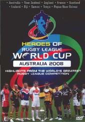 Heroes Of The Rugby League World Cup 2008 on DVD
