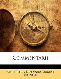 Commentarii by August Meineke