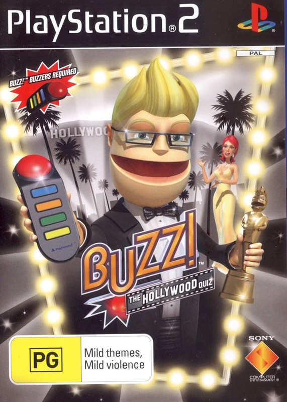 Buzz! Hollywood (game only) for PlayStation 2