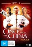 Once Upon A Time In China Trilogy (Hong Kong Legends) (3 Disc Set) DVD