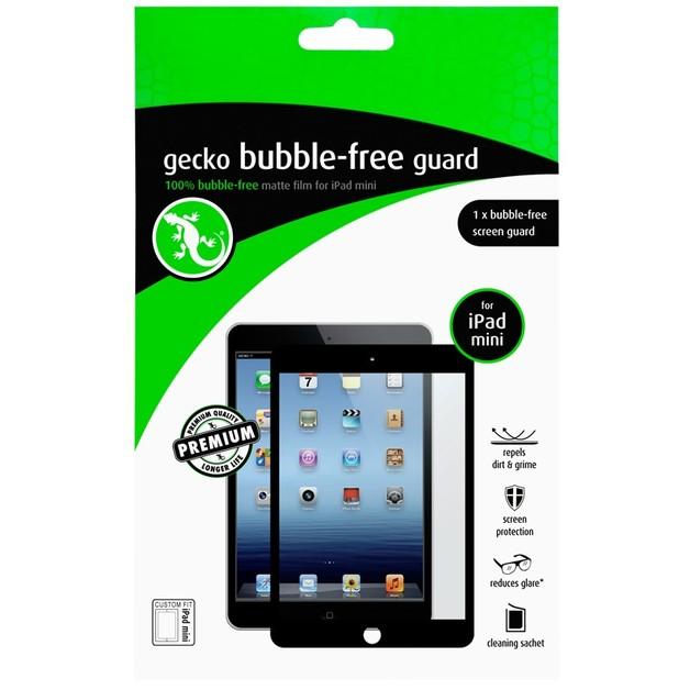 Gecko Bubble Free Screen Guard for iPad mini - Black