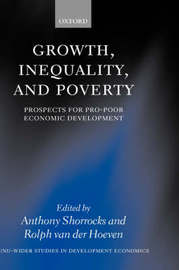 Growth, Inequality, and Poverty by Rolph van der Hoeven image