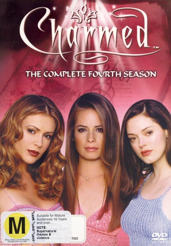 Charmed - Season 4 on DVD image