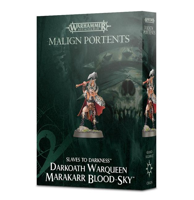 Warhammer Darkoath Warqueen Marakarr Blood-Sky