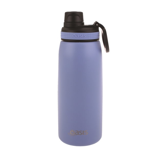 Oasis Stainless Steel Double Wall Insulated Sports Bottle - Lilac (780ml)