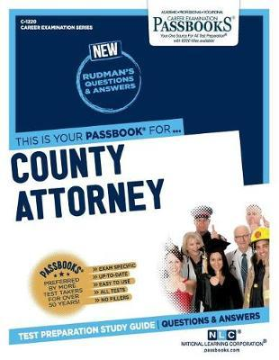 County Attorney by National Learning Corporation