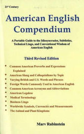 American English Compendium, 3rd Edition by Marv Rubinstein image