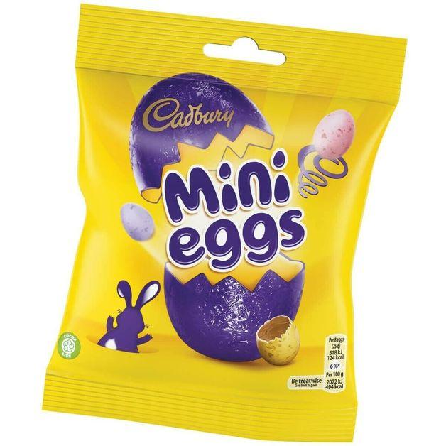 Cadbury - Mini Eggs Bag (80g) 24pk