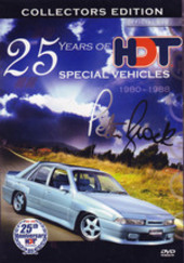 25 Years Of HDT Special Vehicles - 1980-1988: Collectors Edition on DVD
