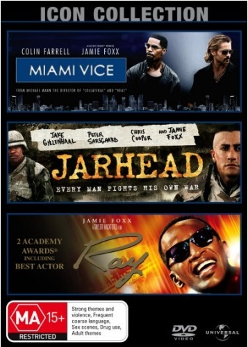Jamie Foxx Movie Collection (Miami Vice (2006) / Jarhead / Ray) (3 Disc Set) on DVD
