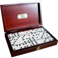 Dal Rossi- Dominoes Double 6 in Wooden Box