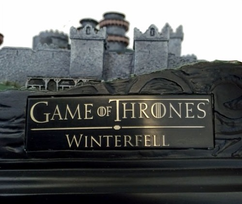 Game Of Thrones Winterfell Desktop Sculpture At Mighty