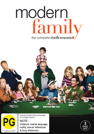 Modern Family - The Complete Sixth Season on DVD