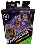 Minecraft: Minis 3 Pack - Alex (With enchanted armor)