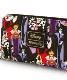 Loungefly Disney Villains Zip Wallet