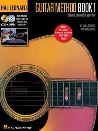 Koch/Schmid Hl Guitar Method Book 1 Deluxe Beginner Ed Bk/Online Media by Will Schmid