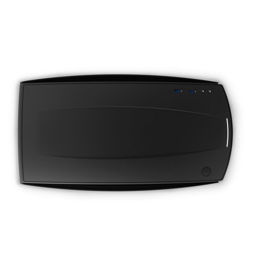 NZXT Manta Mini-ITX Case - Black/Black image