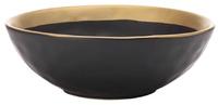 Maxwell & Williams Swank Bowl 14cm (Black/Gold)