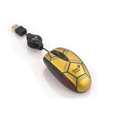 GENIUS P300 FOOTBALL MOUSE GOLD USB
