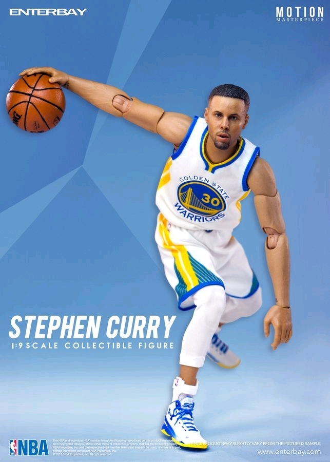 70ae7f85d078 NBA  Stephen Curry - 1 9 Scale Action Figure image ...