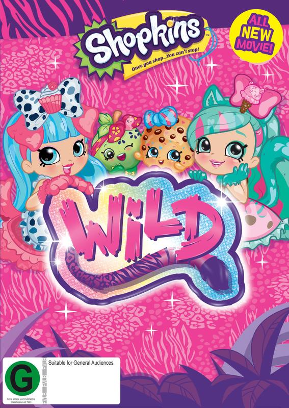 Shopkins Wild Style On DVD