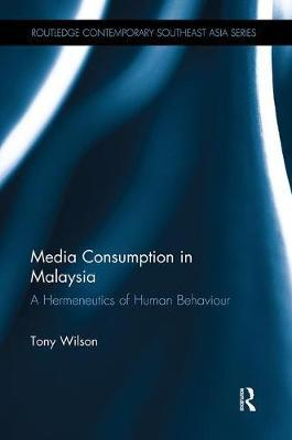 Media Consumption in Malaysia by Tony Wilson