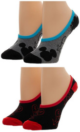 Kingdom Hearts: No Show Liner Socks - 2-Pack