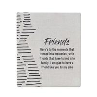 Splosh Markings Ceramic Verse - Friends