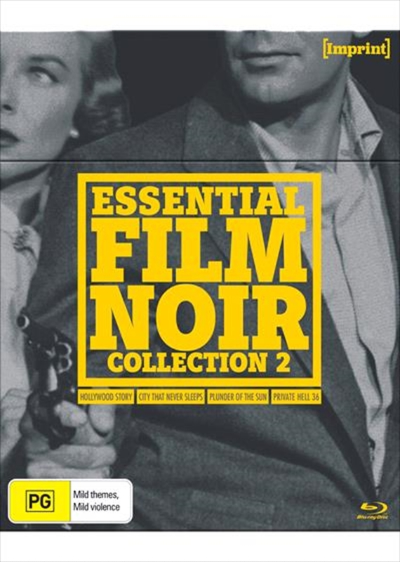 Essential Film Noir Collection 2 (Imprint Collection #45, #46, #47, #48) Blu Ray on Blu-ray