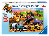 Ravensburger 60 Piece Jigsaw Puzzle - Construction Crowd
