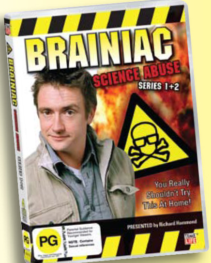Brainiac: Science Abuse - Series 1 & 2 (4 Disc Set) on DVD