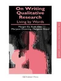 On Writing Qualitative Research by Margaret Anzul image