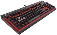 Corsair STRAFE Mechanical Gaming Keyboard (Cherry MX Red) for PC Games