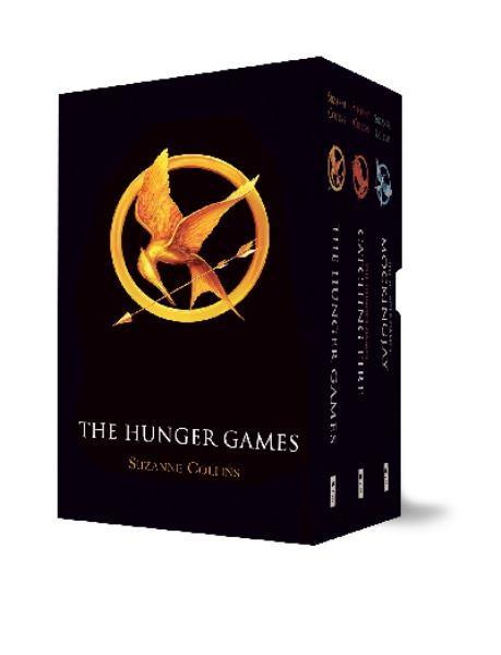 The Hunger Games Boxed Set (Complete Trilogy) by Suzanne Collins