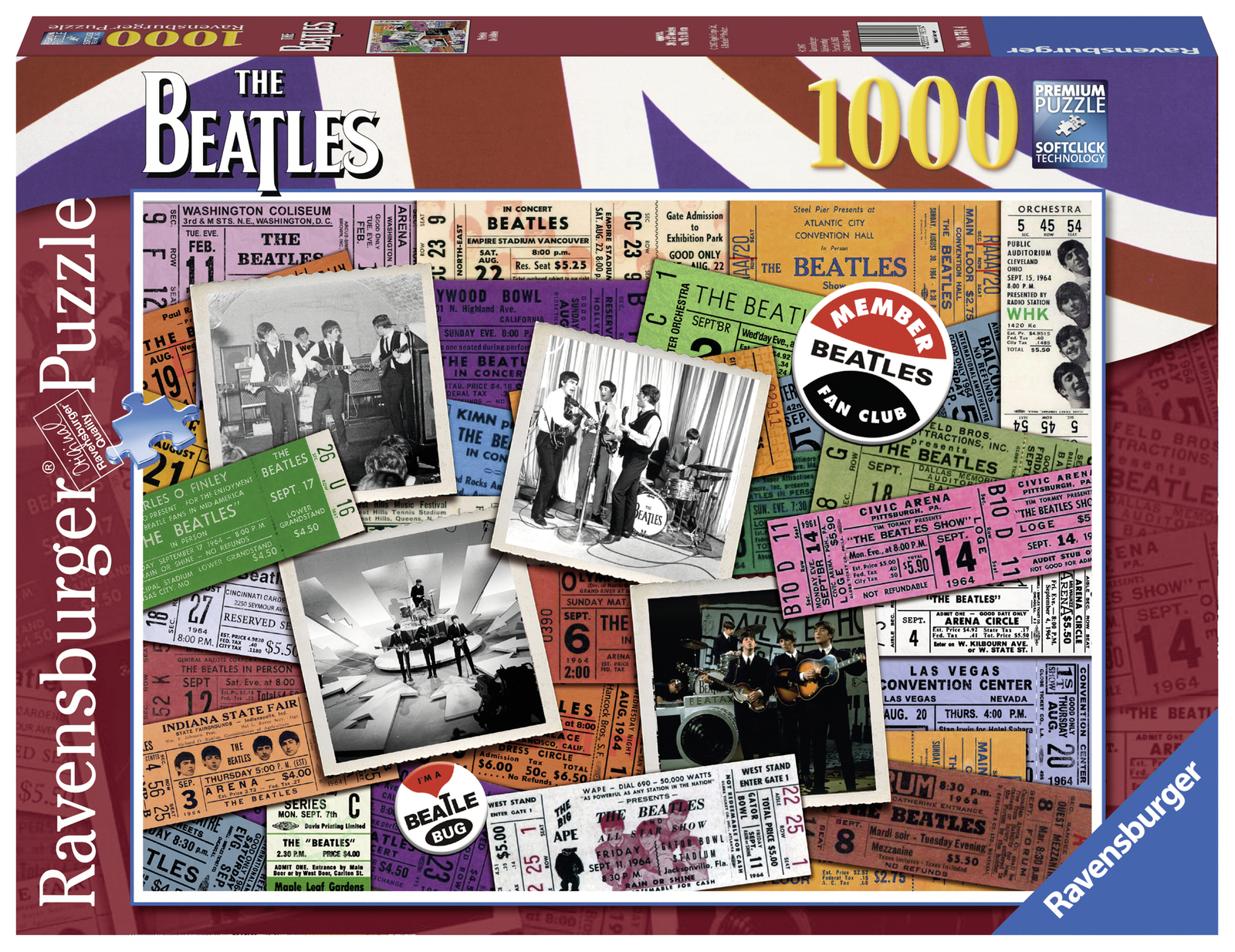 Ravensburger: 1,000 Piece Puzzle - Beatles Tickets image
