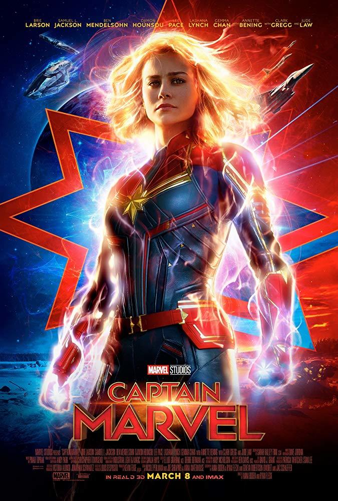 Captain Marvel on UHD Blu-ray image