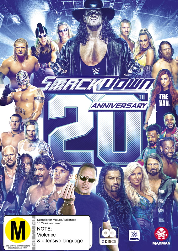 WWE: Smackdown 20th Anniversary on DVD