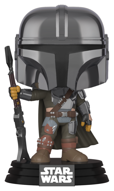Star Wars: The Mandalorian - (Chrome) Pop! Vinyl Figure