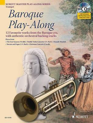 Baroque Play-Aaong: 12 Favourite Works from the Baroque Era, with Authentic Orchestral Backing Tracks by Max Charles Davies image