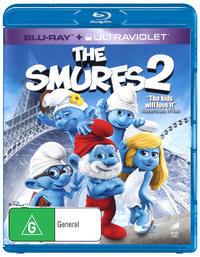 The Smurfs 2 on Blu-ray, UV