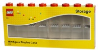LEGO Minifigure Display Case 16 (Red)