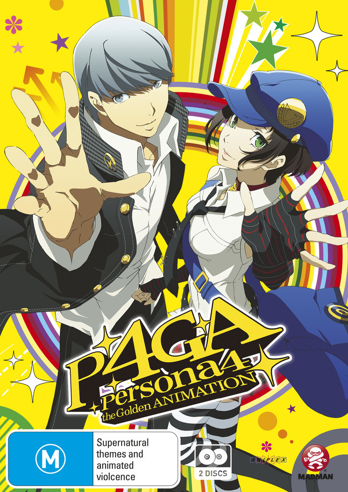 Persona 4: The Golden Animation (Subtitled Edition) on DVD image