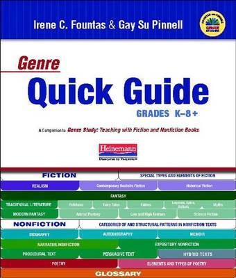 Fountas & Pinnell Genre Quick Guide K-8 by Gay Su Pinnell