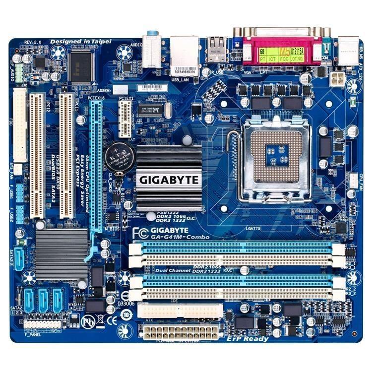 Gigabyte GA-G41M-COMBO for Intel LGA775 Motherboard image