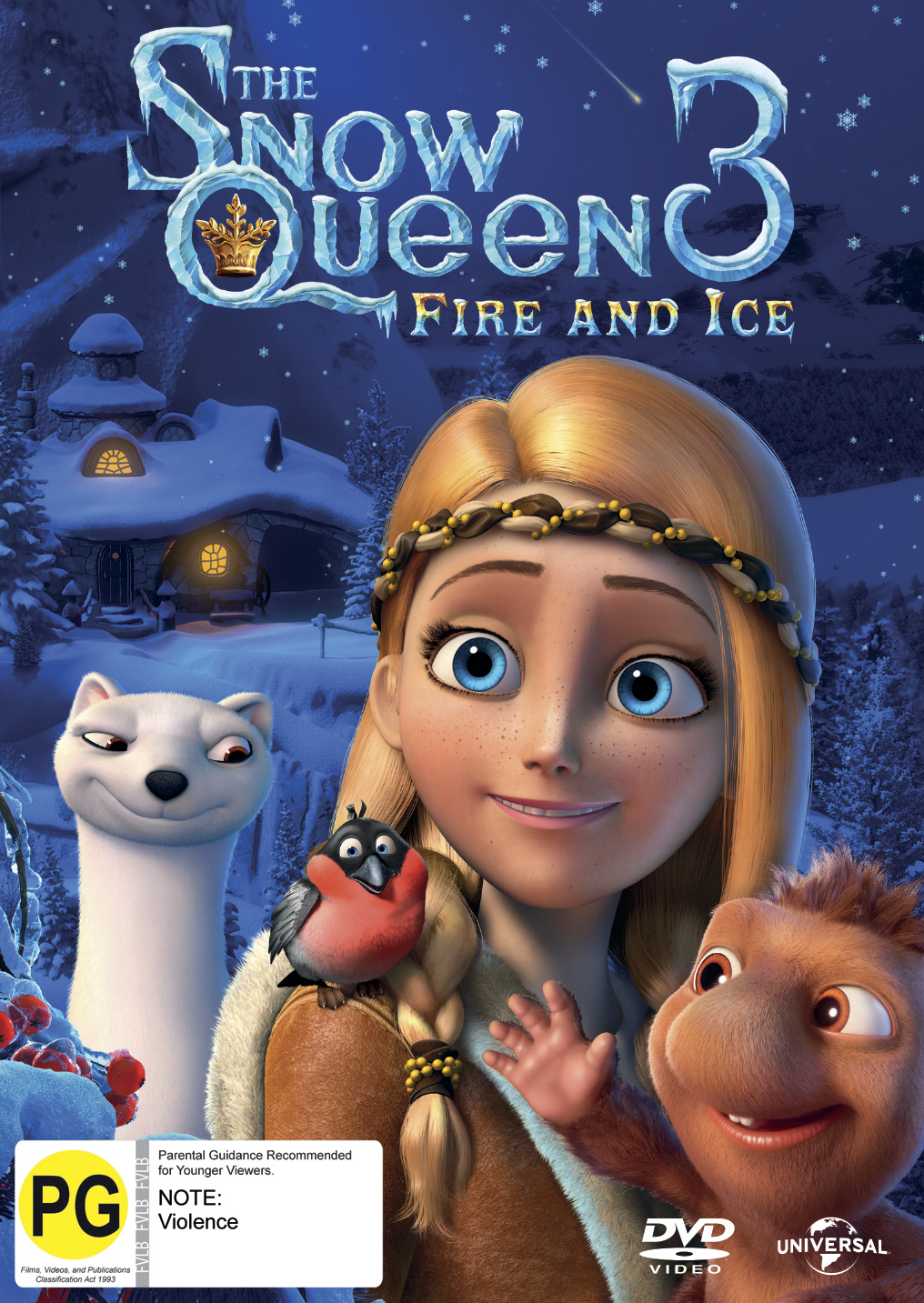 The Snow Queen 3 Dvd In Stock Buy Now At Mighty Ape Nz