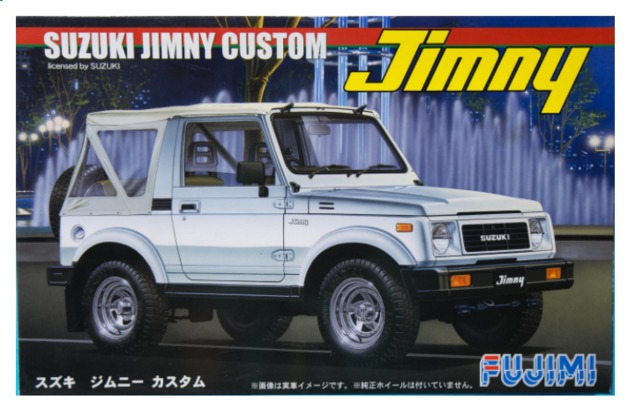 Fujimi: 1/24 Suzuki Jimny (1300 Custom 1986) - Model Kit