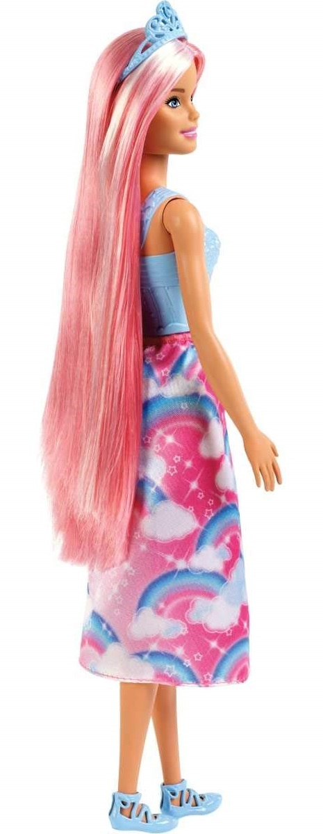 Barbie: Dreamtopia - Long Hair Princess Doll - Pink Hair image
