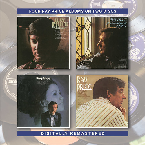Lonesomest Lonesome / She's Got To Be A Saint / You're The Best ThingThat Ever Happened / To Me / If You Ever Change Your Mind (2CD) by Ray Price