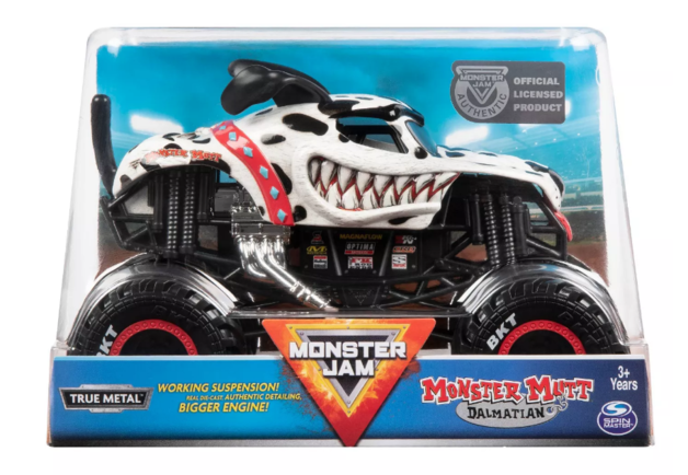 Monster Jam: 1:24 Scale Diecast Truck - Monster Mutt
