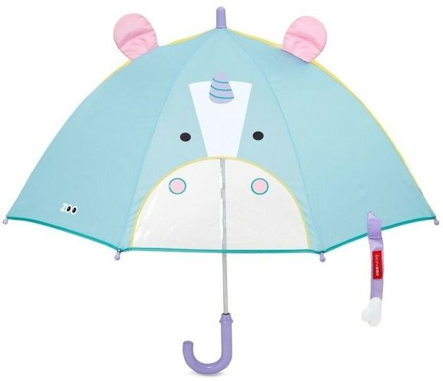 Skip Hop: Zoobrella - Little Kid Umbrella (Unicorn)